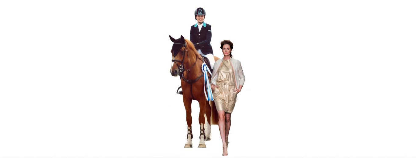 """Annette Wolf: """"Ik ben niet het modelletje dat een beetje paard rijdt…."""""""